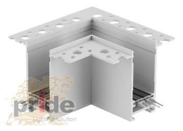 Pride Угловой соединитель для магнитной системы MG 27-61 90° White