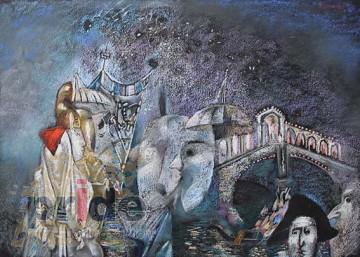 "Авторское Картина Гайрата Байматова ""Карнавал -1"""