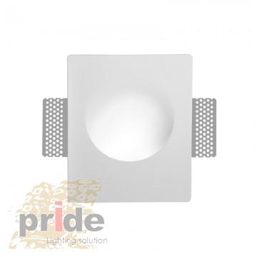 Pride Настенный гипсовый встроенный светильник 73013